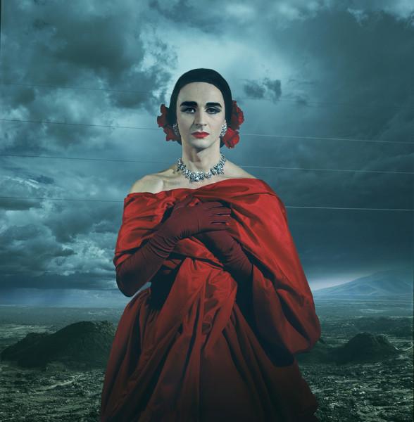 Dagmar Onassis, photograph by Josef Astor
